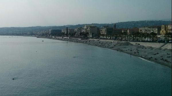 Vieille Ville, Nice and the beach